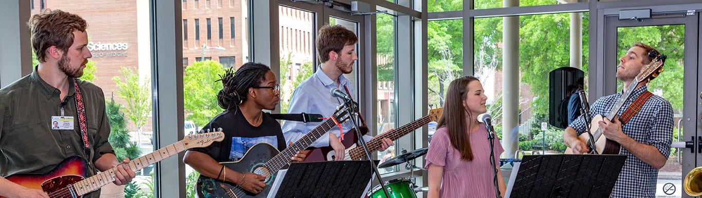 MUSC music group plays at Humanitas reception