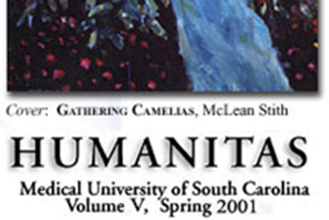 cover image of 2001 Humanitas literary journal