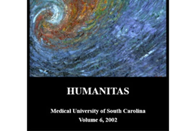 Cover of 2002 Humanitas literary magazine