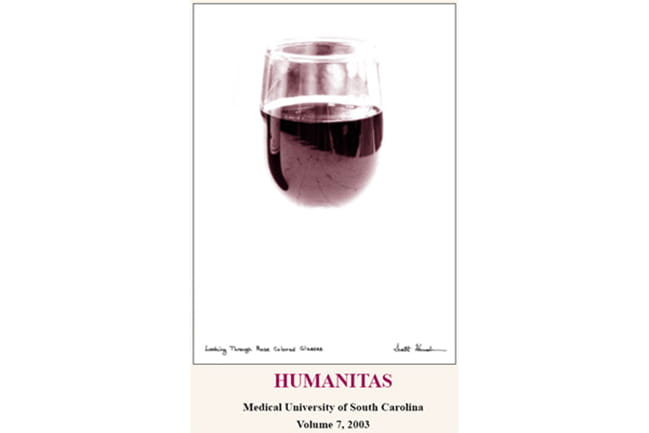 cover of 2003 Humanitas literary magazine