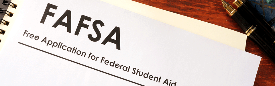 Image of the Free Application for Federal Student Aid form