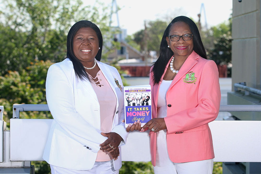 Roxanne Brown Johnson and Michelle Brown-Nelson